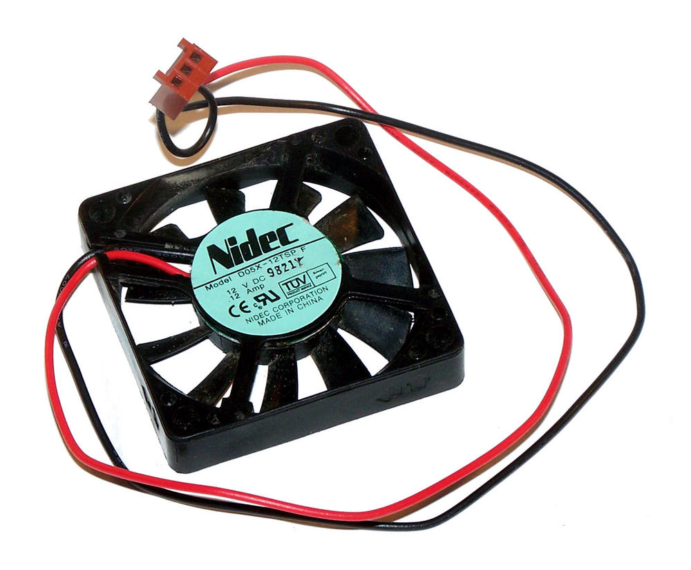 Nidec D05X-12TSP 50mm x 10mm 12VDC 0.12A 2-wire 2695 25cm